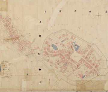 Kadastrale kaart 1811-1832 minuutplan Sittard, Limburg, sectie F, blad 01-MIN11100F01.jpg