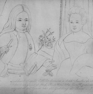 Godefridus Collette en zijn vrouw Elisabeth Godding