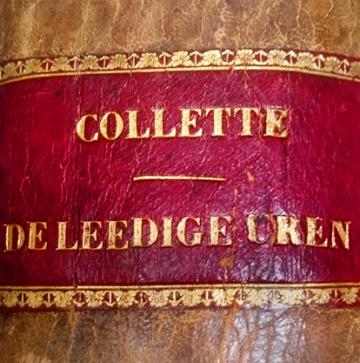 'De leedige uren' van Collette